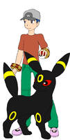 Josh And Umbreon by cookietime88