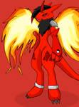 Fire Renamon