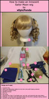 Sailor Moon Wig Tutorial Part1