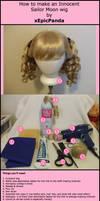 Sailor Moon Wig Tutorial Part1 by xEpicPanda