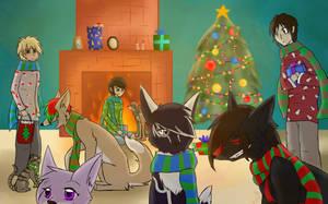 Merry Holidays! by DarkLordIvy