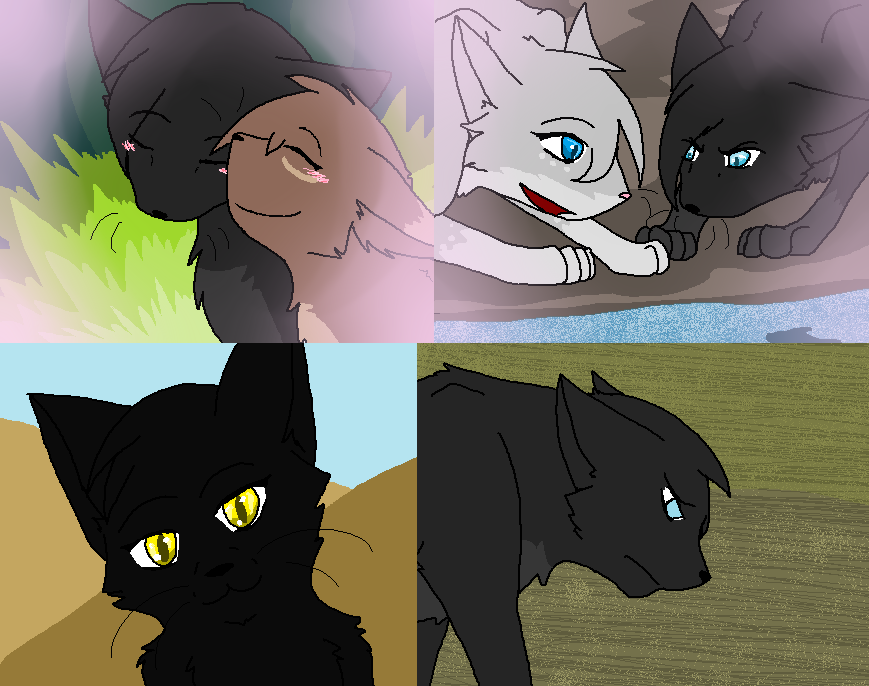angsty angsty crowfeather by darklordivy on deviantart
