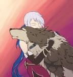 hug the woof