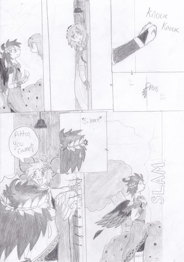 SSBB Doujinshi PAGE 2 By Pit X Dark