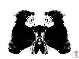 Iodaphor Rorscharch #1