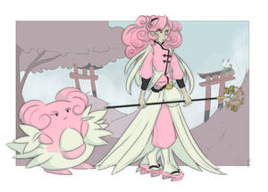 Girly Mons: Blissey by PupperPrinceSam