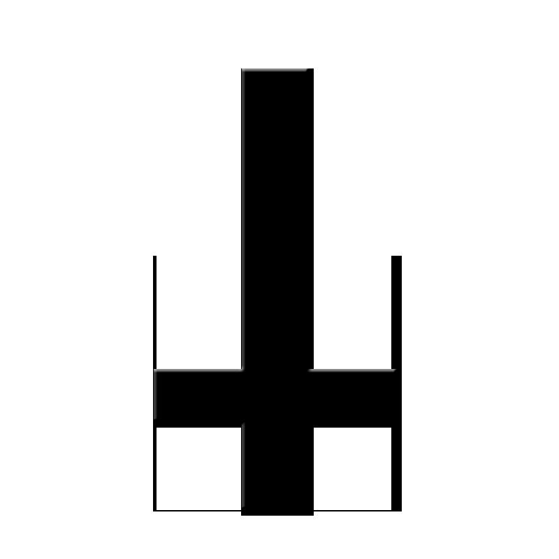Эскизы татуировки перевернутый крест