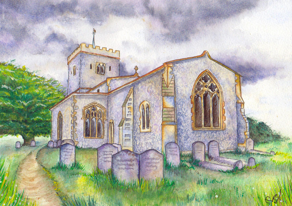 Denham Church by RavenSavage