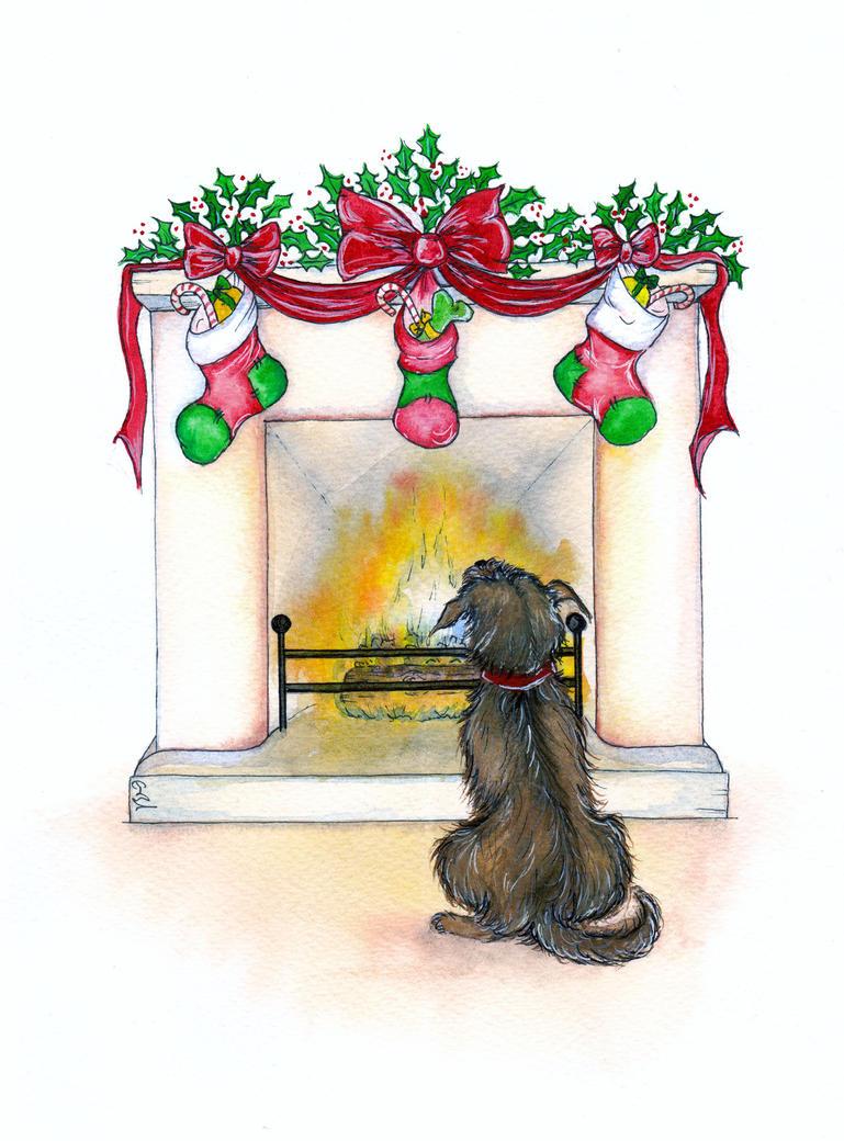 Awaiting Christmas by RavenSavage