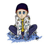 Chibi blue Jesse Pinkman by Inustein