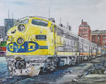 Picture it Houston 1973 Amtraks NB Texas Chief