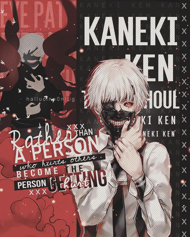 Kaneki Ken:Tokyo Ghoul by SpreeKiller