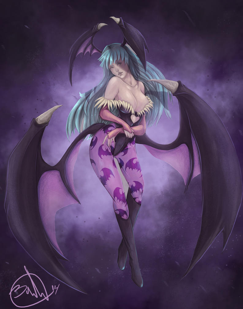 Morrigan Aensland by Black-Strawbarrie