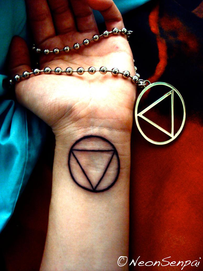 Jashin tattoo by neonsenpai on deviantart for Pain symbol tattoo