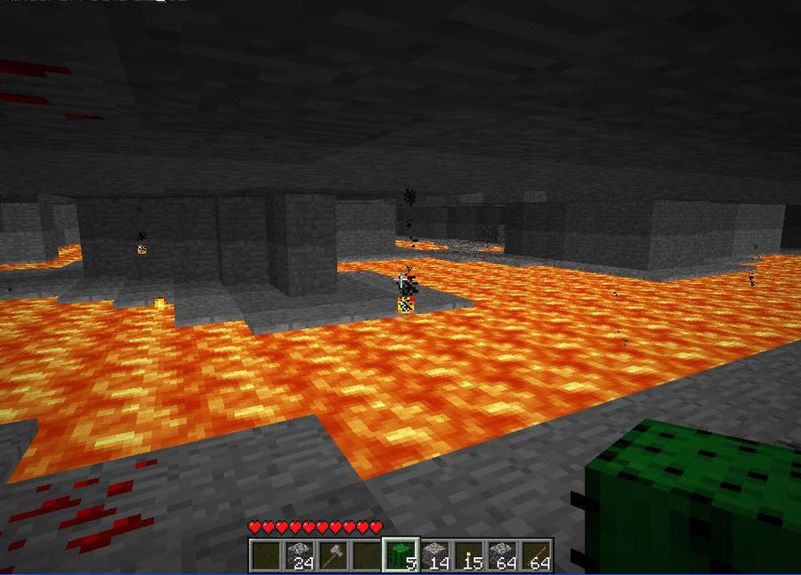 So. What do YOU do with rare minerals in your minecraft ...