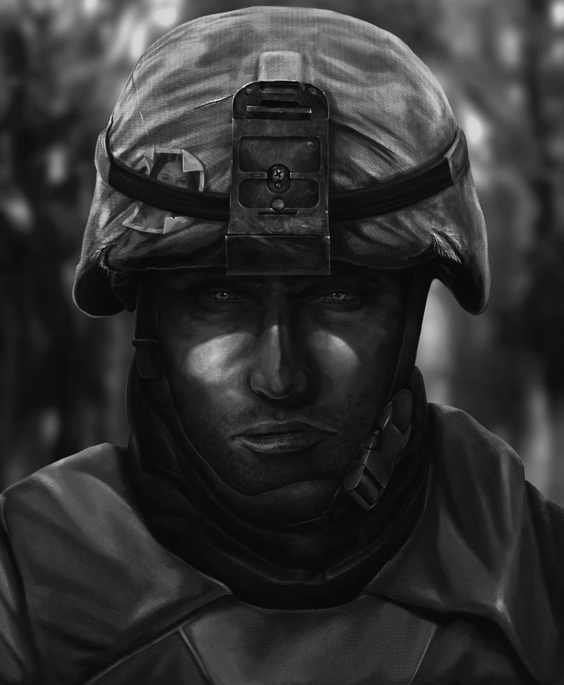 Soldier by sensei2