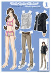 Momoko Paper Doll~ Early Spriing Maria