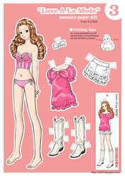 Momoko Paper Doll~ Love A La Mode by siyilin