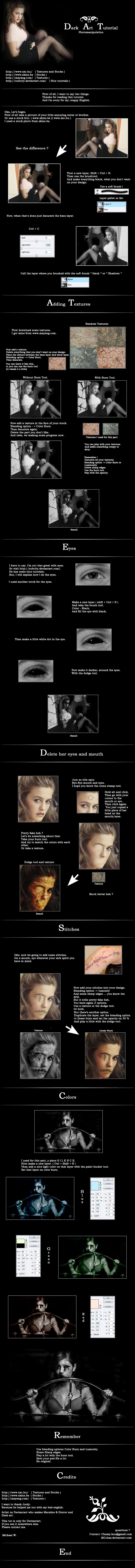 Dark art tutorial.