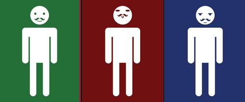 Straiton Bathroom Signs by shihfu
