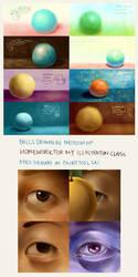Balls and Eyes by shihfu