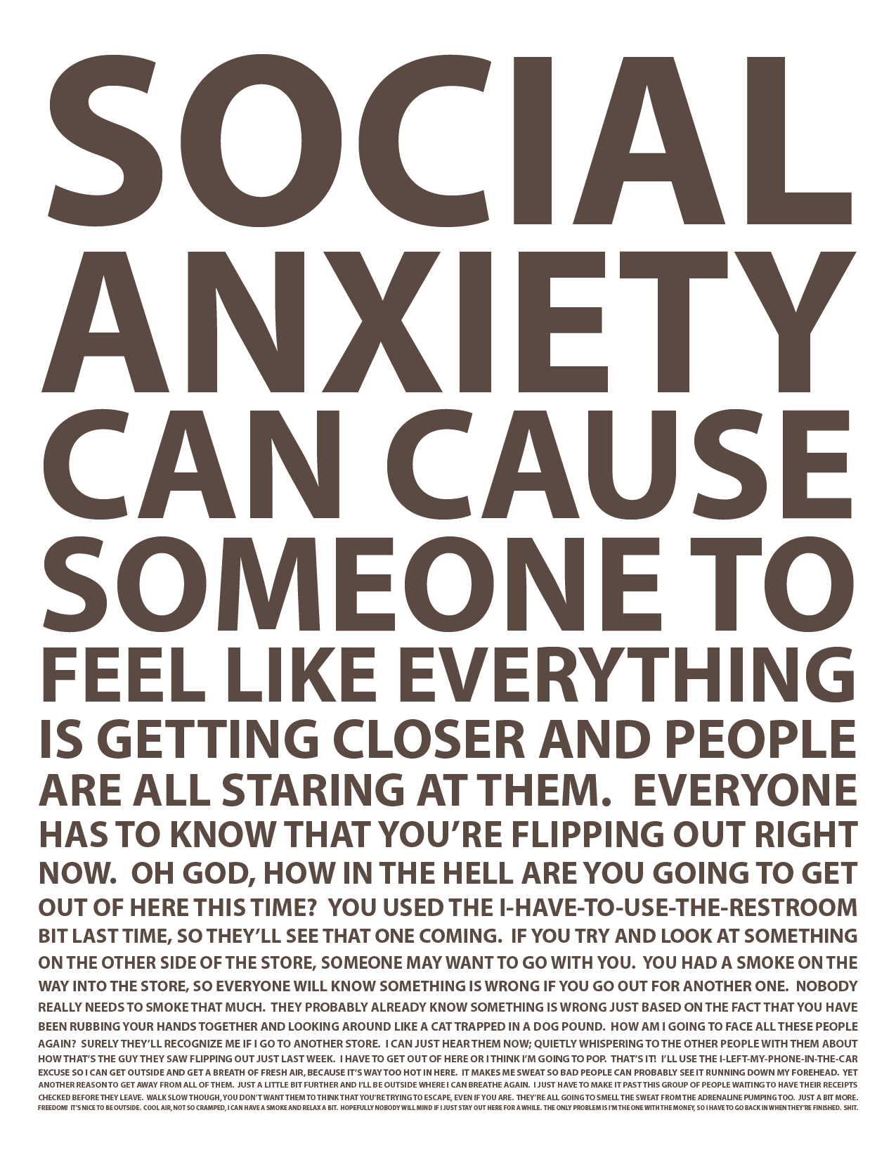 Anxiety (GAD) on Pinterest | Anxiety, Social Anxiety and ...