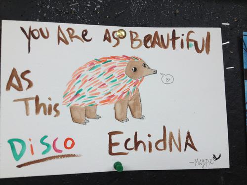 disco echidna by LoD90