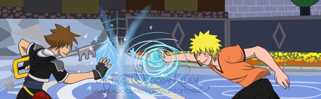 Who Will Win Naruto Vs Sora By Bloodyriley On Deviantart