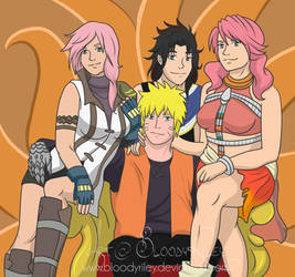 Nine Tailed King - Naruto, Lighting, Fang, Vanille