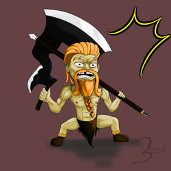 My DnD Dwarf Barbarian