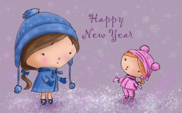 Happy New Year ! by AliMacArt