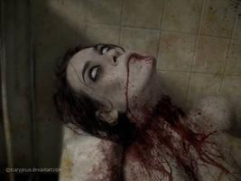 asleep by scaryjesus