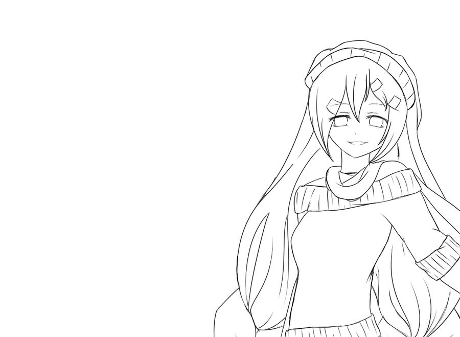 Digital Painting Without Lineart : Mr music lineart by vocaloid on deviantart