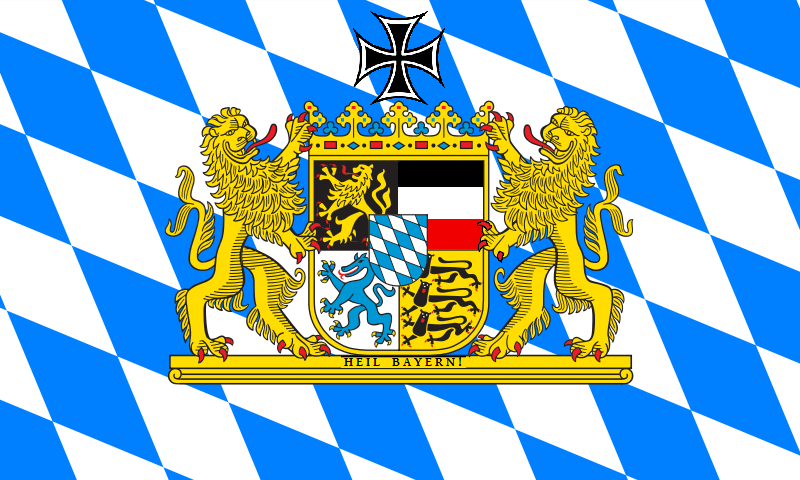 Bavarian Reichsflagge by PokeCJG on DeviantArt