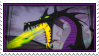 Dragon Maleficent Fan Stamp by Pouasson-de-oro