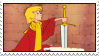 Disney The Sword in the Stone stamp by Pouasson-de-oro