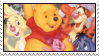 Disney Winnie The Pooh Stamp by Pouasson-de-oro