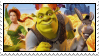 1st Shrek movie stamp by Pouasson-de-oro