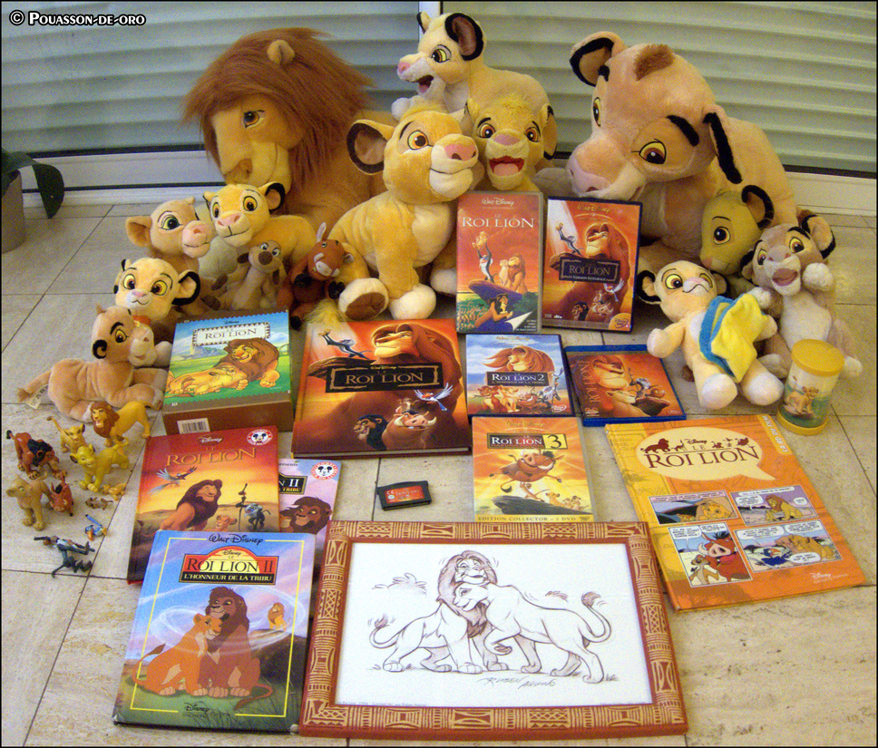 My Lion King collection [VERY INCOMPLETE] by Pouasson-de-oro