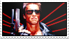 The Terminator stamp by Pouasson-de-oro