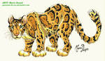 Clouded Leopard by PouassonDeOro