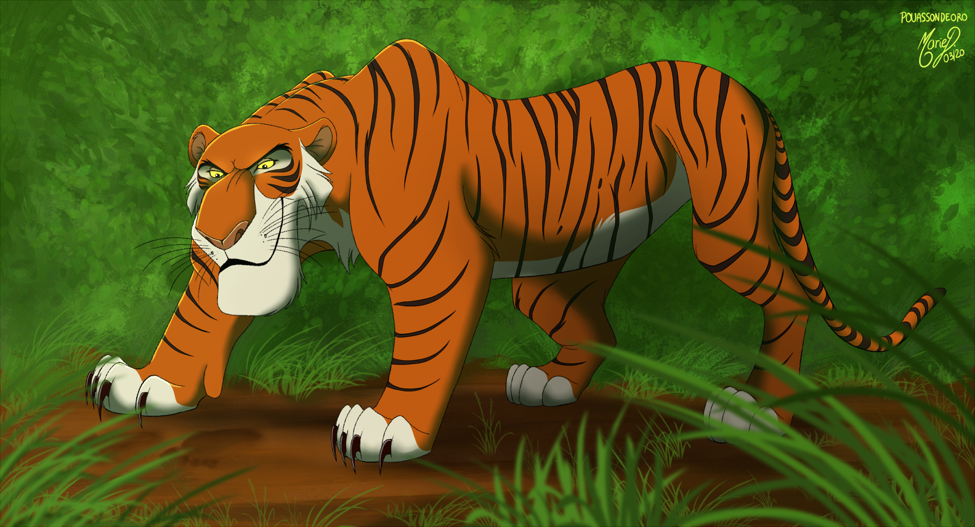 Shere Khan- ''Found you'' by PouassonDeOro on DeviantArt