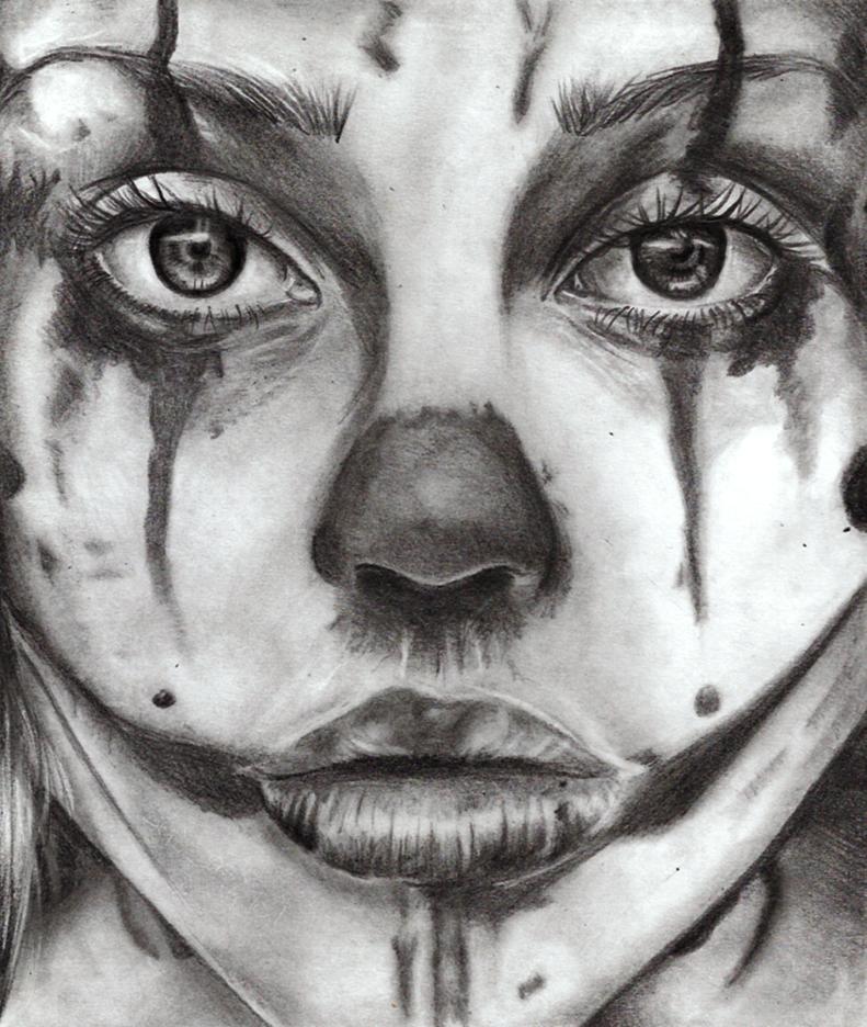 Sad clown by Im-death