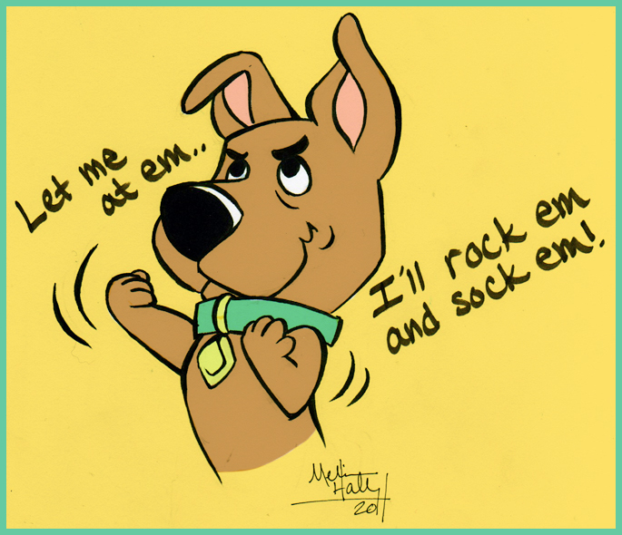 scrappy doo coloring pages - photo#28