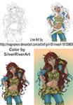 Elf Girl Color WIP Composite by IceDragonArt