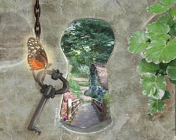 My Secret Garden Contest Entry by IceDragonArt