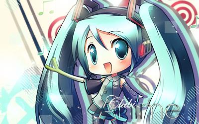 Chibi Miku by DigexArt