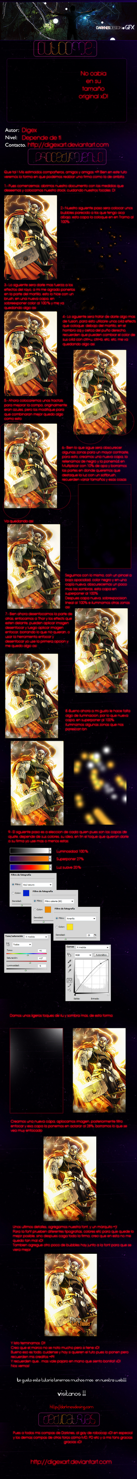 Thor tutorial by DigexArt