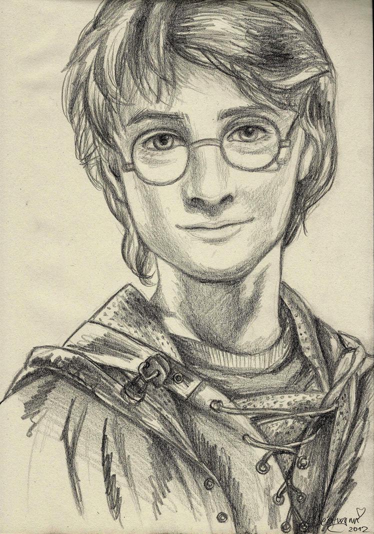 Harry Potter - Portrait Practice #0004 by Fjalldis