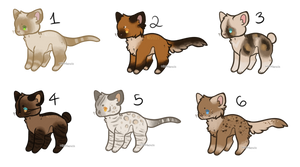 [1/6 OPEN] Adopt Batch 4 :. Brown and White by Hugh-Janus